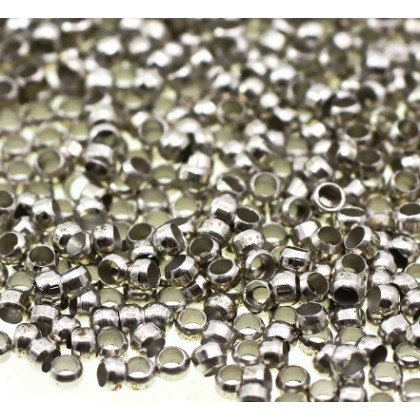 Beads, Findings, Crimp Bead, 2mm, SELECT YOUR COLOUR, Round, Diy, L1-00118