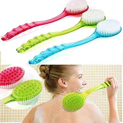 Bath Brush,Shower Brush,Bath Tool,Brush Back Body,Scrubber,Long Handled Massager,Cleaner Tool