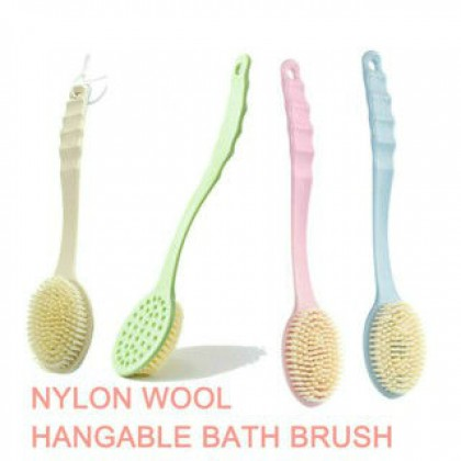 Shower Brush,Long Handled Bath Shower Massager Skin,1 Pcs Bath Brush,Bath Tool,Brush Back Body,Scrubber,Cleaner