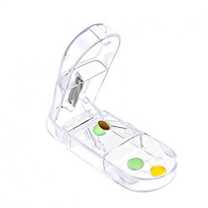 Pill Medicine Cutter,Pill Splitter,Convenient Tablet Cutter,Plastic,Medicine Splitter