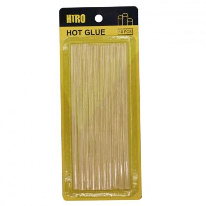 10 Pcs Hot Melt Adhesive Hot Glue Stick, 0.7x18cm