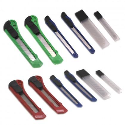 Cutter Knife Set Cutter Blade Snap Blade Refill Razor Blade