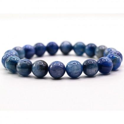 Grade A Natural Kyanite Bracelet Round