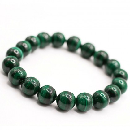 Natural Malachite Bracelet Round