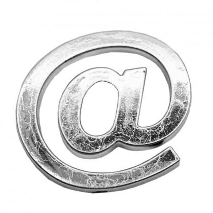 1 Pcs Capital Letters Alphabets Symbol Number Mailbox Car Logo Sticker