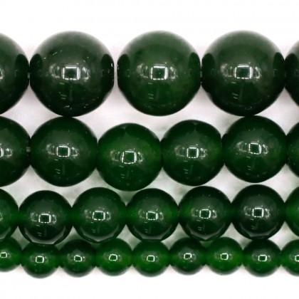 Natural Taiwan Jade Gemstone Beads, 4mm-10mm, Smooth Round, L2-02409
