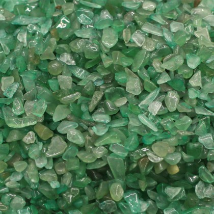 Mini Chip, 3x5mm, Stone Bead, Embellishment, Aventurine Gravel, Diy, L2-01287