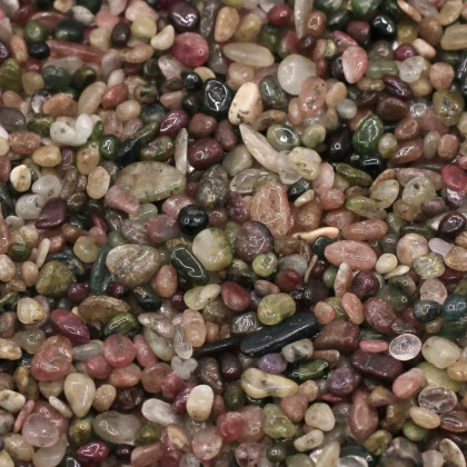 Mini Chip, 3x5mm, Stone Bead, Embellishment, Tourmaline Gravel, Diy, L2-01286