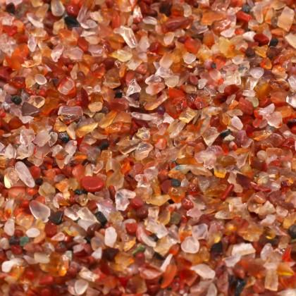 Mini Chip, 3x5mm, Stone Bead, Embellishment, Red Agate Gravel, Diy, L2-01285