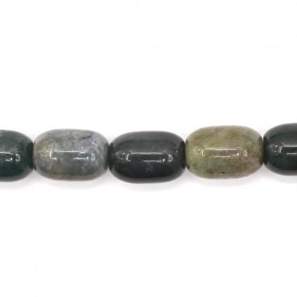 Bead, Natural Indian Blood Stone Gemstone Beads, 10x14mm, Barrel, L2-05236