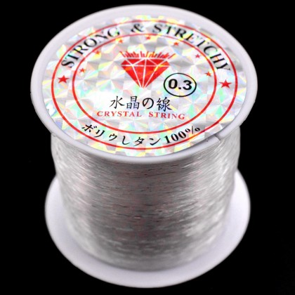 Beads, Stringing Material, Illusion Cord, 0.2mm-0.8mm, SELECT YOUR SIZE, Monofilament, Diy, ST-00416
