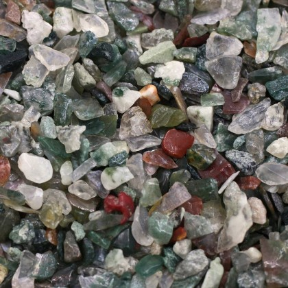 100g Undrilled Mini Chip, 3x5mm, Stone Bead, Embellishment, Indian Blood Stone Gravel, Diy, L2-01276