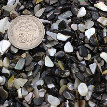 100g Undrilled Mini Chip, 3x5mm, Stone Bead, Embellishment, Shell Gravel, Diy, L2-01277