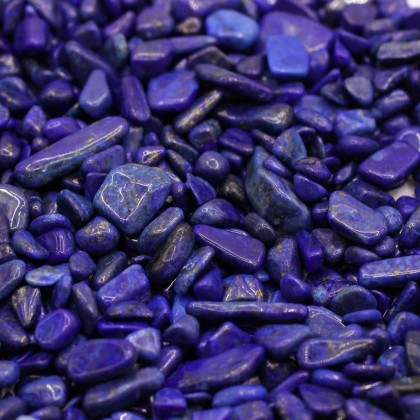 100g Undrilled Mini Chip, 5x8mm, Stone Bead, Embellishment, Lapis Lazuli Gravel, Diy, L2-01256
