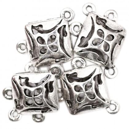 Beads, Connector Link, 24x17mm, SELECT YOUR COLOUR, Zinc Alloy, Diamond, Diy, L1-04252