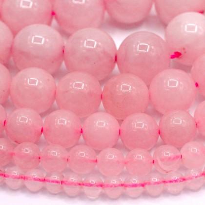 Natural Rose Quartz Gemstone Beads, Stone Bead, 4mm-12mm, Smooth Round, Diy, L3-02423