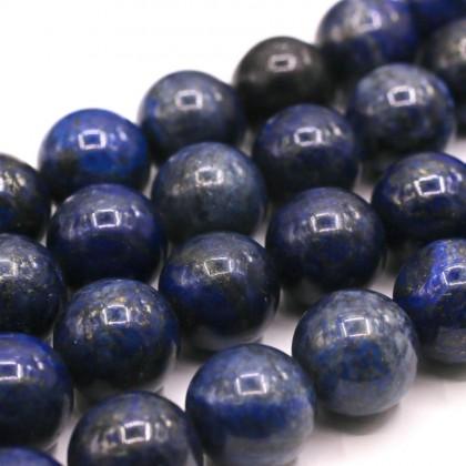 Natural Lapis Lazuli Gemstone Beads, 3mm-14mm, Smooth Round, L1-01012
