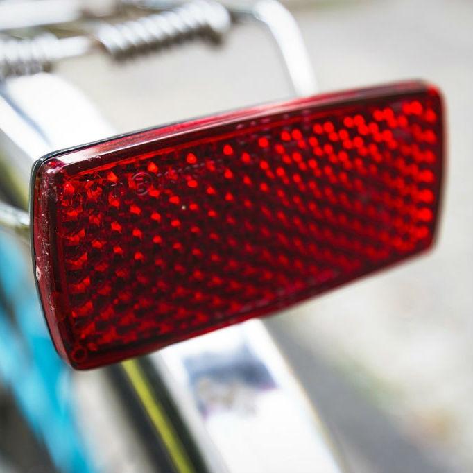 Bicycle Bike Safety Caution Warning Reflector Disc Rear Pannier Rack T HKTWUK